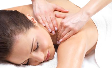 SPA терапия с масаж на цяло тяло с масло по избор, плюс зонотерапия на глава, лице и пети,