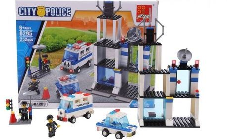 """Конструктор за деца """"Градска полиция"""""""