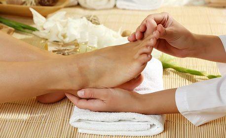 Българска SPA терапия от полите на Родопите с глинени керемидки - масаж на цяло тяло и ходила