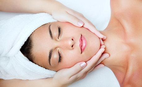 Колагенова терапия и LED маска на лице, плюс биолифтинг на околоочен контур