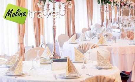 За 8 Март в Струмица! Екскурзия с 1 нощувка със закуска и вечеря в Хотел Сириус****, плюс транспорт и релакс зона