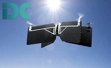 Мини дрон Parrot Swing с отделен контролер за управление Parrot Flypad