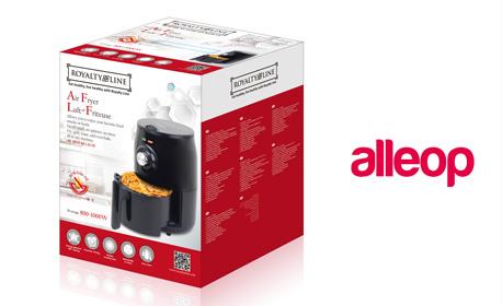 Фритюрник за здравословно готвене с горещ въздух Air Fryer Royalty Line - с безплатна доставка