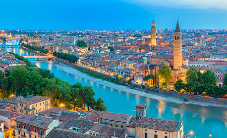 Във Венеция за Свети Валентин! 3 нощувки със закуски, плюс транспорт и възможност за Падуа, Верона и остров Мурано