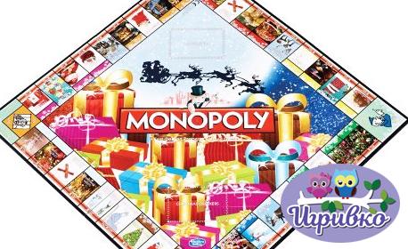 """Настолна игра """"Monopoly: коледно издание"""""""