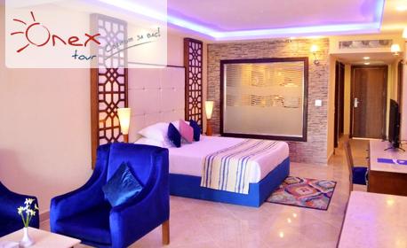 Нова година в Шарм ел Шейх, Египет! 5 нощувки на база All Inclusive в Хотел Sea Beach Aqua Park**** и самолетен билет