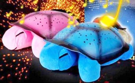 За детето! Интерактивна нощна лампа с музикални и светещи функции, в синьо или розово