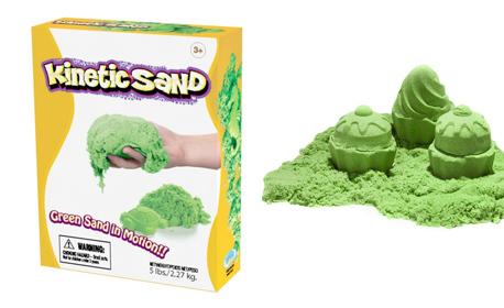 Пясъкът, който се движи - оригинален подарък за Коледа! Кинетичен пясък
