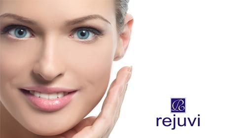 Грижа за лице с Rejuvi! Диамантено микродермабразио и безиглена мезотерапия - без или със масаж