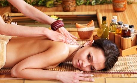 90 минути комбиниран тибетски масаж на цяло тяло