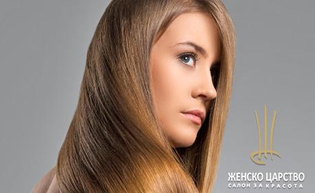 Ламиниране на коса с професионални продукти на Estel