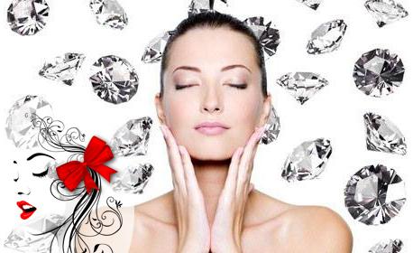 Терапия за лице BB Glow - за подмладяване и подобряване на тена, плюс диамантено микродермабразио и алгинатна маска