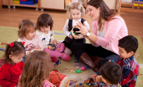 1 час или цял ден занималня за дете на 3 - 8 години