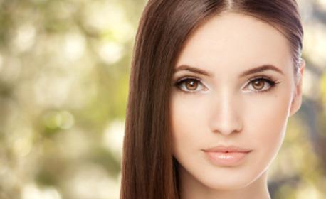 Почистване на лице с ултразвукова шпатула, плюс оформяне на вежди