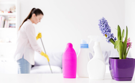 Пролетно почистване на дом или офис до 200кв.м