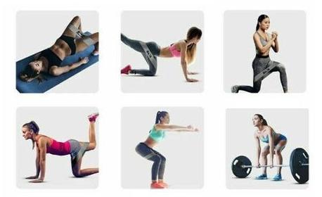 Комплект от 3 броя ластици за фитнес тренировка