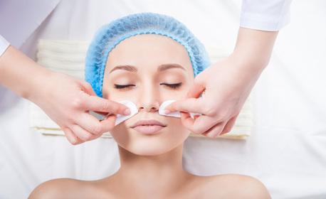 Възобновяваща грижа за лице! Диамантено или водно дермабразио, RF лифтинг, биолифтинг на околоочен контур