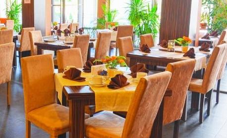Почивка в Банско! Нощувка с възможност за закуска, обяд, вечеря и напитки, плюс минерален басейн и релакс зона