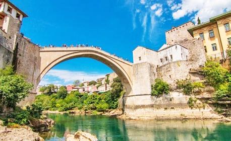 Посети Босна и Херцеговина през Септември! 3 нощувки със закуски в Сараево, плюс транспорт и посещение на Босненските пирамиди