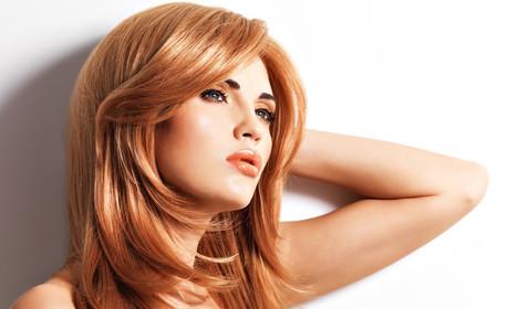 Боядисване на коса, плюс подстригване и оформяне