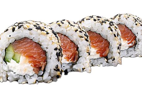 Суши сет от Новото меню на Happy Bar & Grill! Комбо меню с 16 хапки