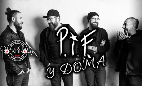 Концерт на група P.I.F. - на 27 Март в Рок клуб Rock'n'Rolla