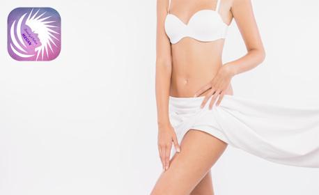 Антицелулитна терапия с мануален масаж, вендузи и боди репинг