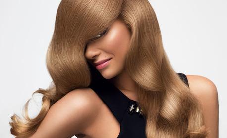 Измиване на коса и оформяне със сешоар - без или със подстригване