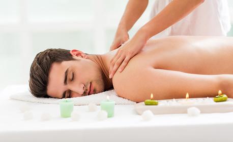 60-минутна противовирусна SPA терапия! Престой в инфраред сауна и масаж на гръб с магнезиево олио