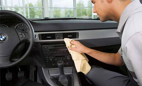 Чист автомобил! Цялостно пране на салон и вътрешно почистване