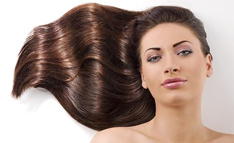 Подстригване на коса, маска и измиване, боядисване или терапия