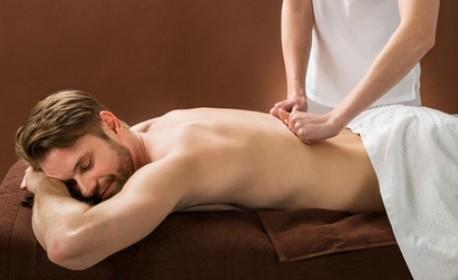 Масаж на цяло тяло - ароматерапевтичен или хавайски Ломи-ломи с ползване на парна баня