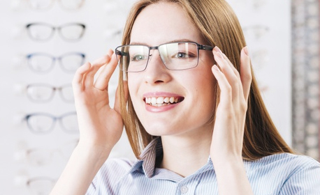 Диоптрични очила с пластмасова или метална рамка и стъкла за блокиране на синята светлина - с безплатна доставка