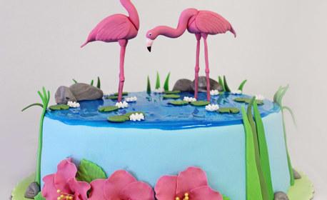 Торта с 10, 12 или 16 парчета и дизайн по избор - с безплатна доставка