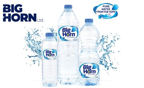Изворна вода Big Horn - за дома или офиса, с включена доставка