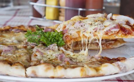 Вземи за вкъщи! Средна или фамилна пица, по избор