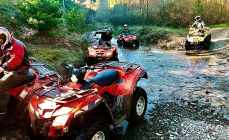 60 минути адреналин! Офроуд разходка с АТВ Canam в Стара планина