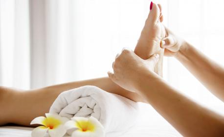 Масаж по избор - частичен, на цяло тяло или за уморени крака