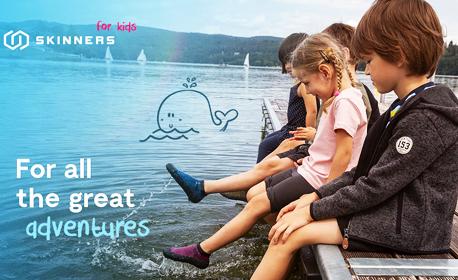 Чорапи-обувки Skinners - за деца или възрастни