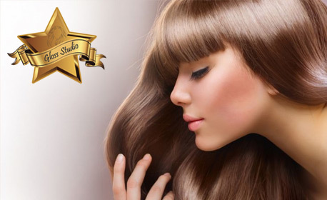 Терапия за коса, плюс оформяне със сешоар - без или със подстригване