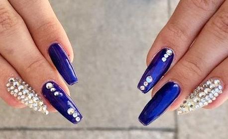 Цветни нокти! Маникюр с гел лак, плюс 2 декорации