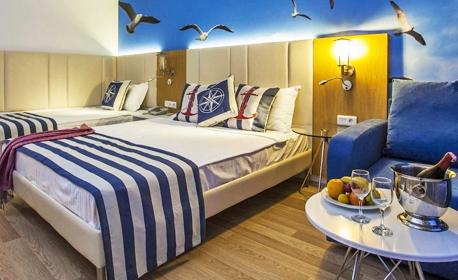 На 50 метра от морския бряг край Алания! 7 нощувки на база Ultra All Inclusive в хотел Eftalia Marin***** в Тюрклер