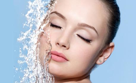 Почистване и RF лифтинг с фотони на лице, плюс йонна, кислородна и озонотерапия