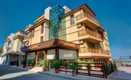 За двама в Созопол - на 300м от плажа и стария град! 2 или 3 нощувки и възможност за закуски