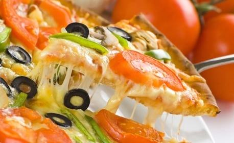 Салата и пица по избор