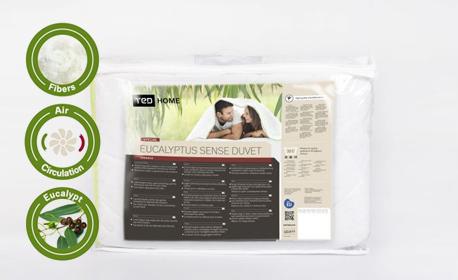 Олекотена завивка Eucalyptus Sense Duvet - в размер по избор и с безплатна доставка