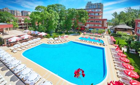 Лято в Слънчев бряг! Нощувка на база All Inclusive, плюс басейн и шезлонг на плажа