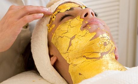 Водно дермабразио, скулптиращ лифт масаж на лице и ултразвуково въвеждане на серум