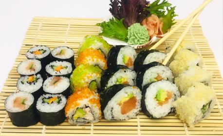 Суши сет с 22 хапки