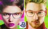 Модерни очила с рамка по избор и стъкла с покритие - против надраскване, антирефлексно или за работа с компютър